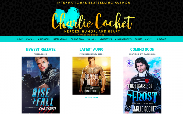 Charlie Cochet Author Site