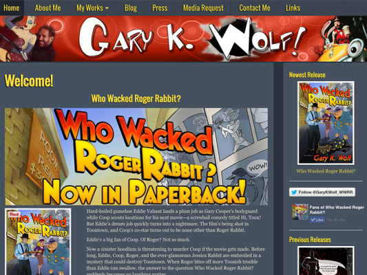 Gary Wolf Author Site