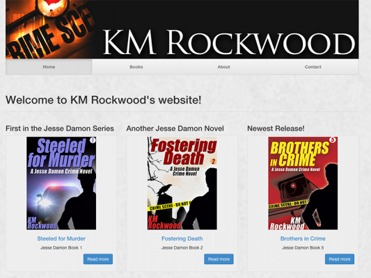 K.M. Rockwood Author Site