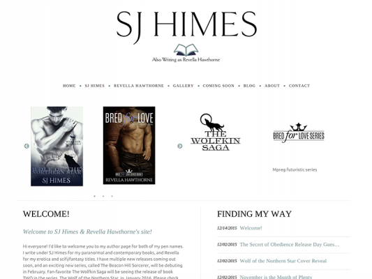 S.J. Himes Author Site